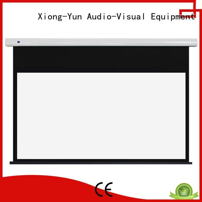 free standing projector screen motorized screen Standard motorized series
