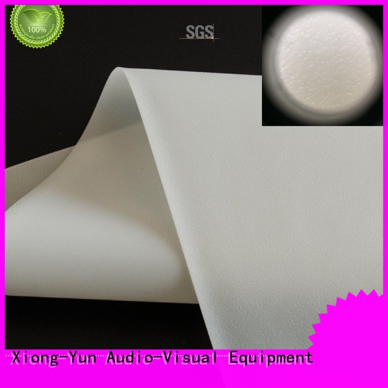hard rear projection fabric with good price for motorized projection screen
