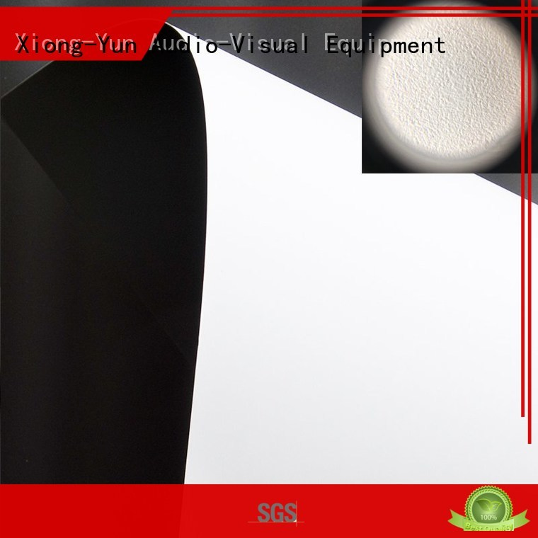 HD home theater projection screens with soft PVC fabric wf1 front and rear fabric XY Screens Brand