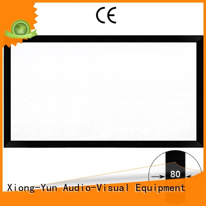 cheap movie projector hk80c theater OEM movie projector screen XY Screens