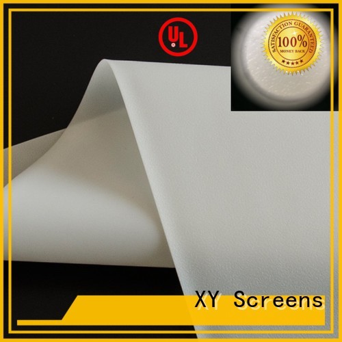 XY Screens Brand front screen Front and rear portable projector screen side supplier