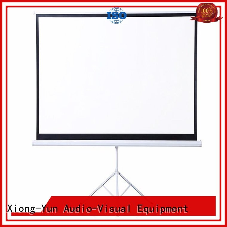 XY Screens Brand office rst64 tripod projector screen tripod screen