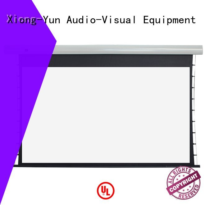 Hot tab tensioned electric projector screen ec1 Tab tensioned series intelligent XY Screens