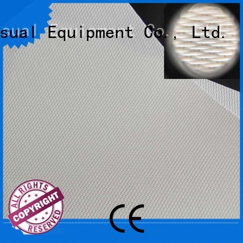 transparent Acoustically Transparent Fabrics manufacturer for projector screen