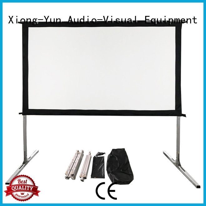folding outdoor XY Screens outdoor projector screen