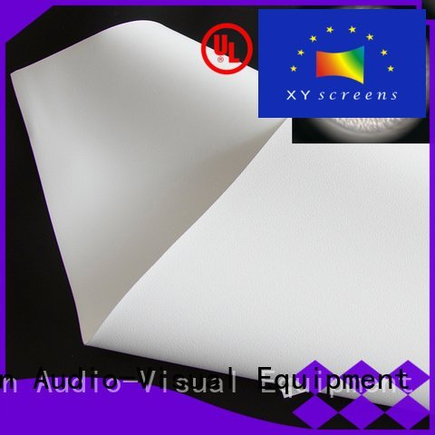 OEM front and rear fabric bs1 max4k HD home theater projection screens with soft PVC fabric