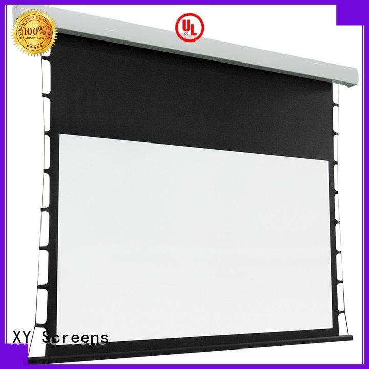 tab tensioned electric projector screen series Tab tensioned series XY Screens