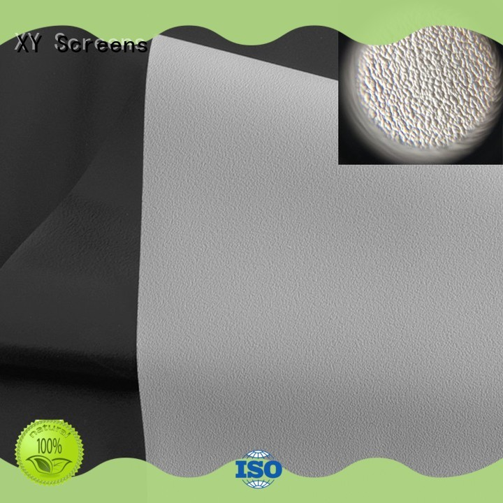 XY Screens front fabrics inquire now for thin frame projector screen