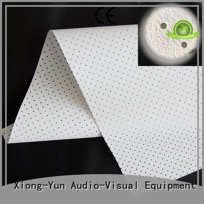 Custom Acoustically Transparent Fabrics mfs1 max max5 XY Screens
