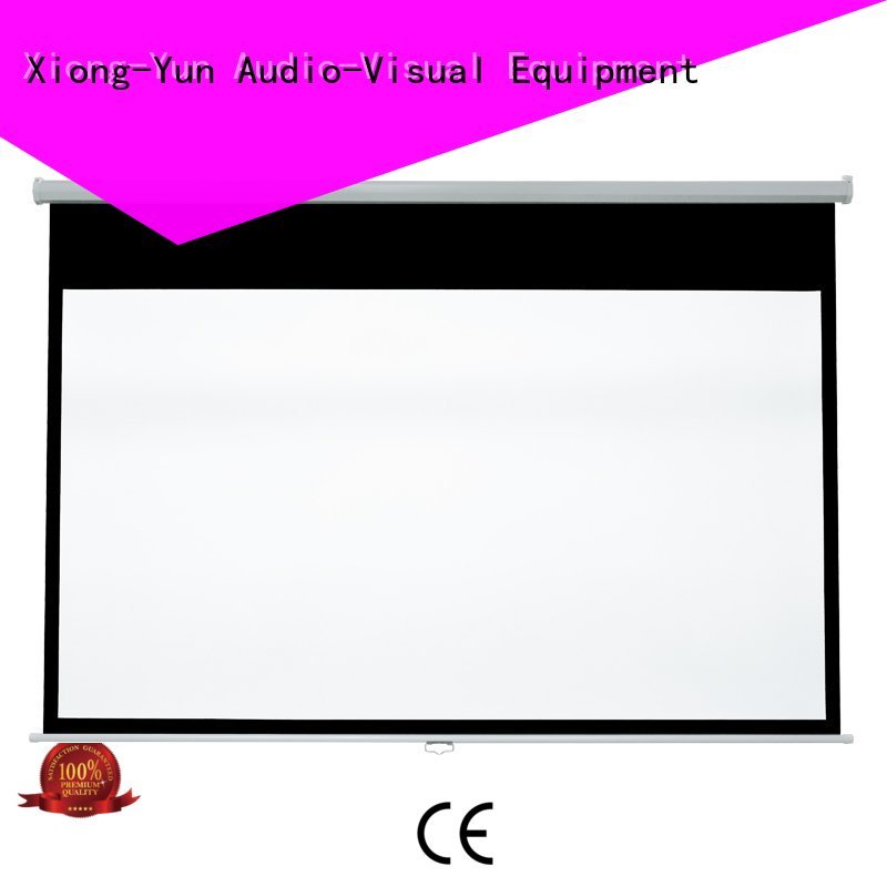 XY Screens pull down screen factory for classroom