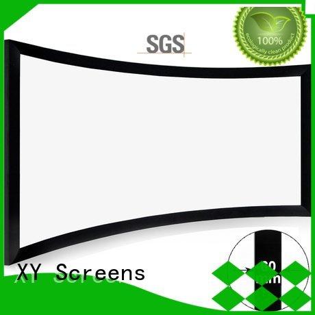 XY Screens Brand chk60b series thin home entertainment center frame
