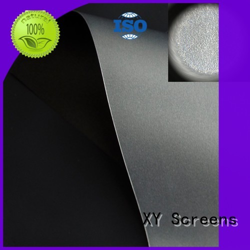 XY Screens normal projector cloth directly sale for motorized projection screen