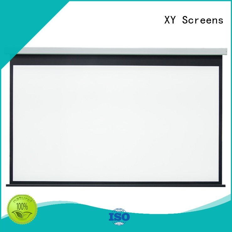 XY Screens Brand rsc64 Electric Drop Down Movie Screen projector screen