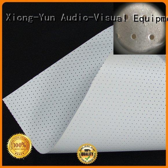 woven Acoustically Transparent Fabrics sound metallic XY Screens