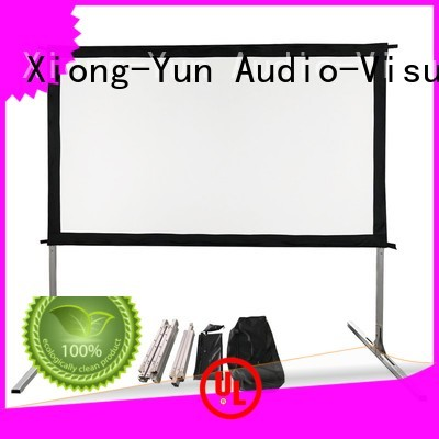 stable outdoor projector screen factory price