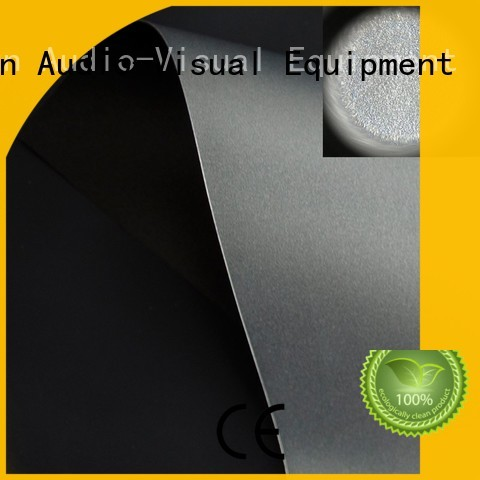 light rejecting projector cloth directly sale for motorized projection screen