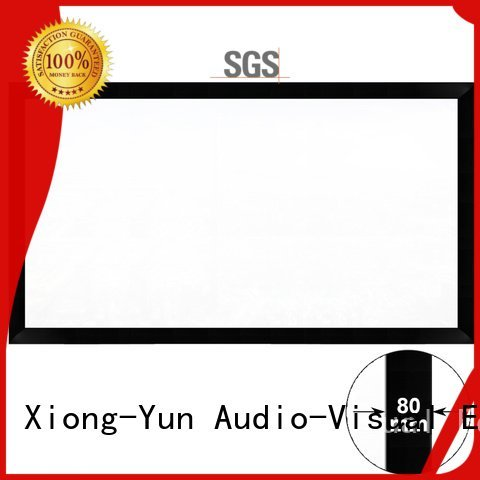 Hot cheap movie projector frame screen inch XY Screens Brand