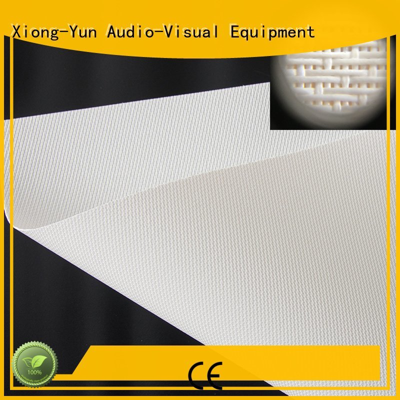 OEM Acoustically Transparent Fabrics fs1 perforating acoustic fabric