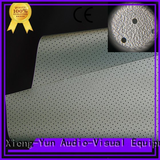 sound acoustically Acoustically Transparent Fabrics XY Screens Brand