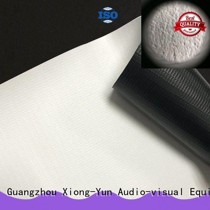 XY Screens quality projector fabric design for projector screen