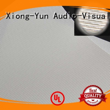 mfs1 sound XY Screens Brand acoustic fabric factory