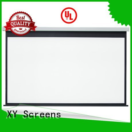 Quality Electric Drop Down Movie Screen XY Screens Brand 140180 Motorized Retractable Projector Screen
