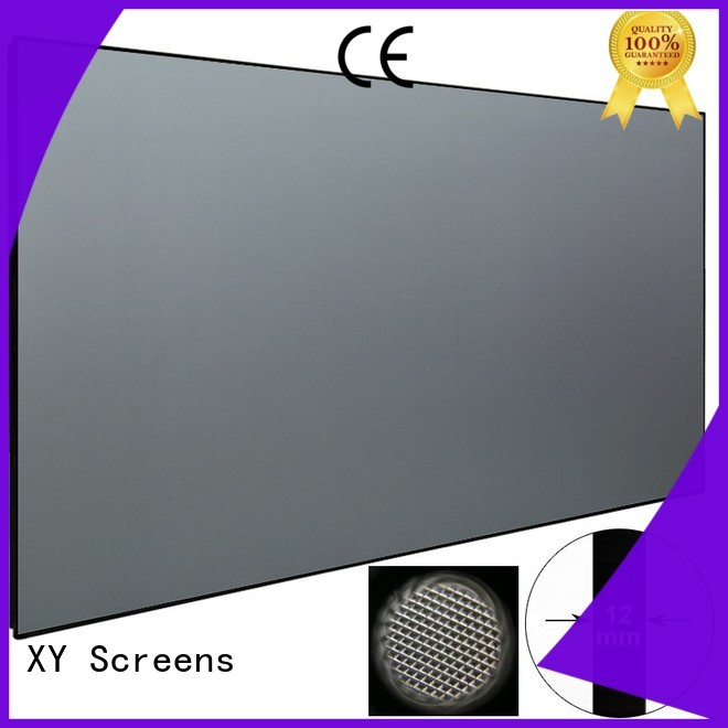 XY Screens ultra short throw projector for home theater customized for television