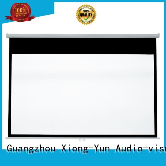 Wholesale projector down pull down projector screen XY Screens Brand