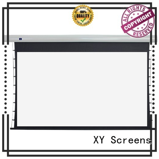 XY Screens Tab tensioned series supplier for indoors