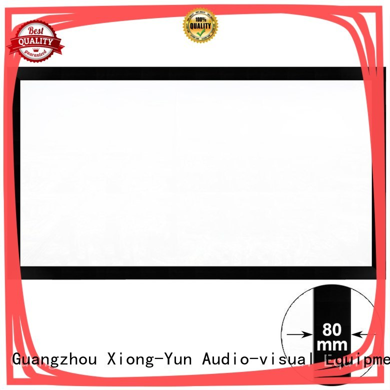 XY Screens movie projector screen factory price for office
