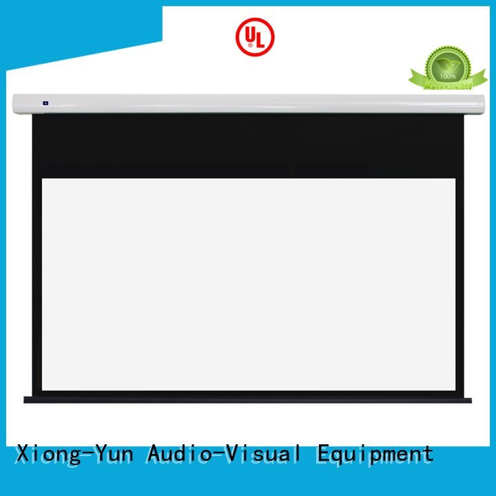 Hot free standing projector screen motorized intelligent ec1 XY Screens Brand