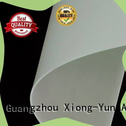 XY Screens hard rear projection screen material with good price for fixed frame projection screen