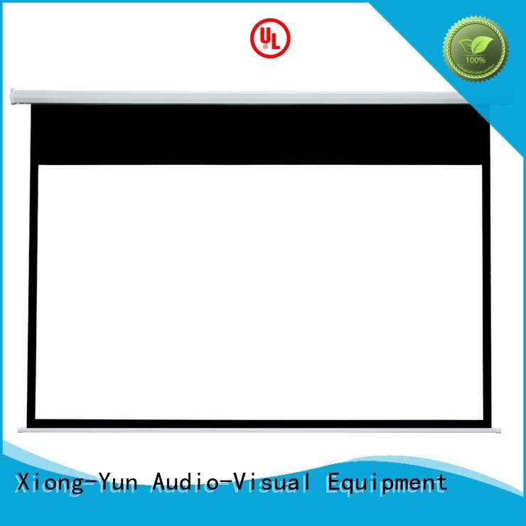 retractable motorized XY Screens Electric Drop Down Movie Screen