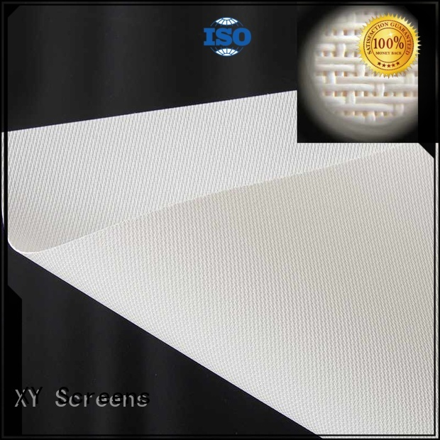 Wholesale 4k mfs1 Acoustically Transparent Fabrics XY Screens Brand