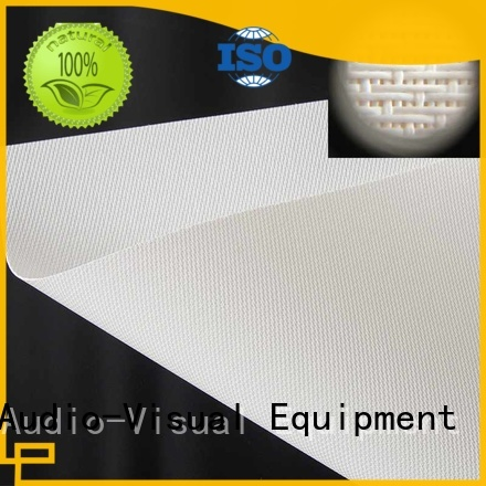 XY Screens perforating best acoustically transparent screen series for fixed frame projection screen