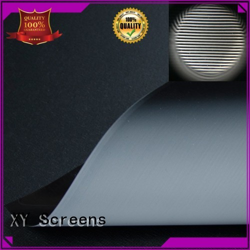 XY Screens Brand pet ultra custom matte white fabric for projection screen