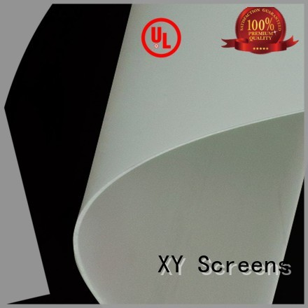 pvc rear projection screen material no smell for fixed frame projection screen