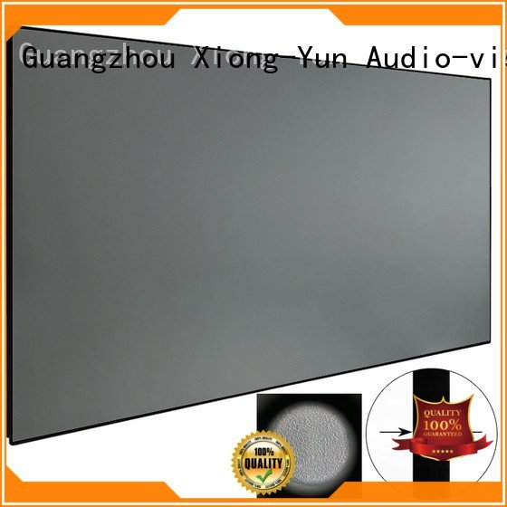 XY Screens Brand zhk100bblack ambient bezel Ambient Light Rejecting Projector Screen rejecting