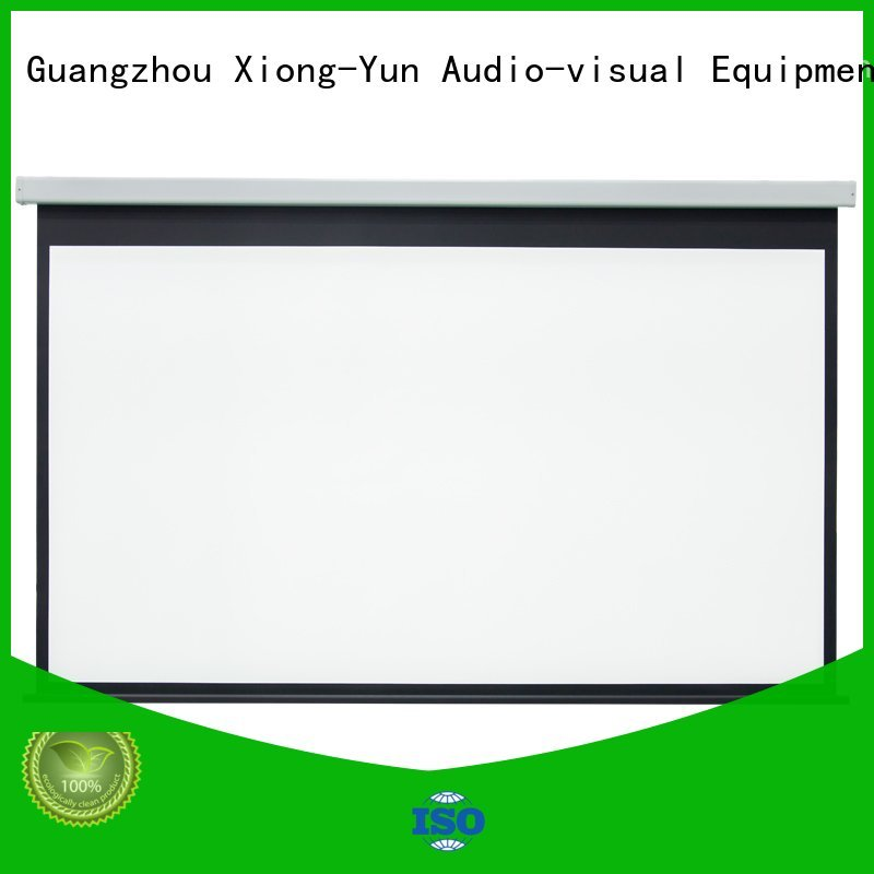 XY Screens motorized projector screen factory price for home
