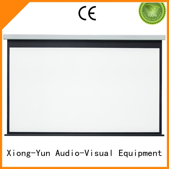 down retractable projector large projector screen XY Screens Brand