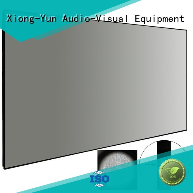 Custom Ambient Light Rejecting Projector Screen crystal bezel gain XY Screens