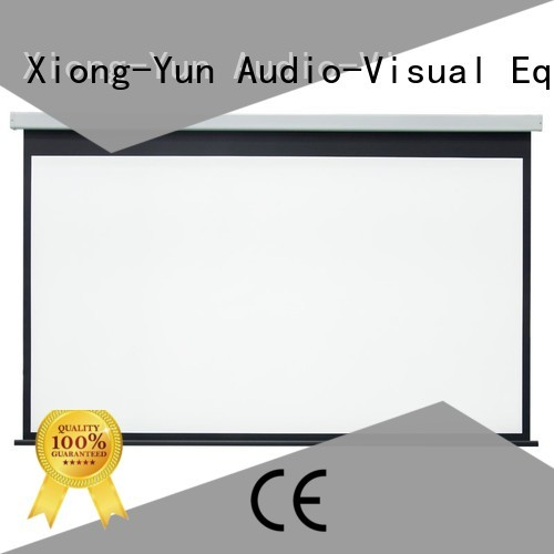 curved Home theater projection screen factory price for home