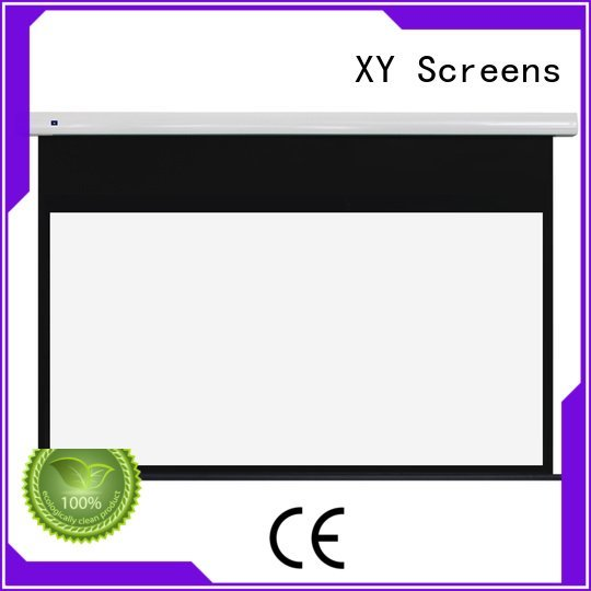 Standard motorized series XY Screens