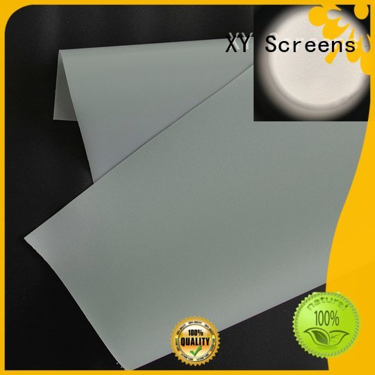 Quality Front and rear portable projector screen XY Screens Brand both projector screen fabric
