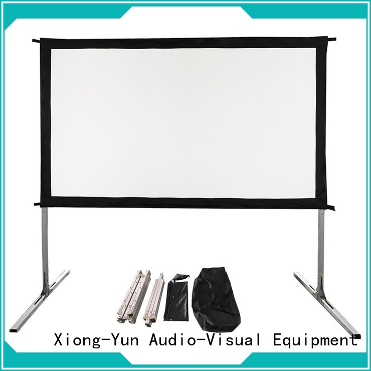 XY Screens best outdoor projector wholesale for square