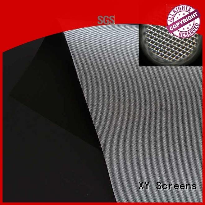 standard projector cloth customized for thin frame projector screen