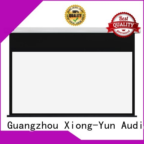 XY Screens white projection screen manufacturer with good price for household
