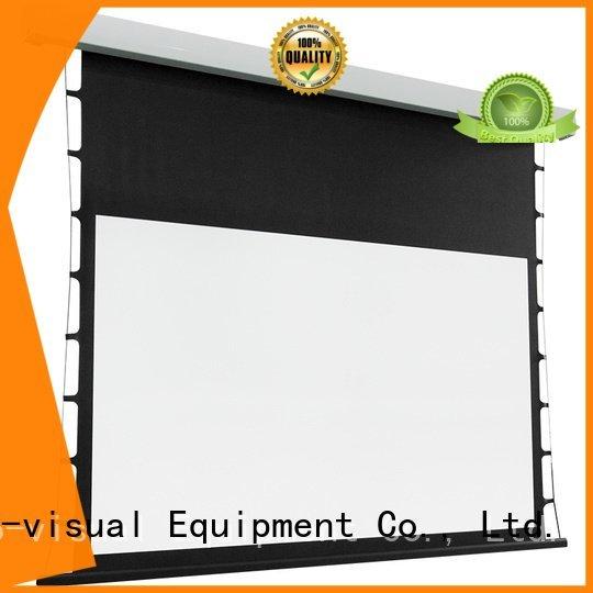 tab tensioned electric projector screen motorized screen series intelligent Bulk Buy