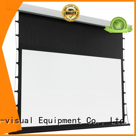 tab tensioned electric projector screen motorized screen series intelligent Bulk Buy