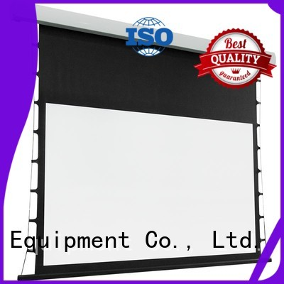 intelligent tab tensioned projector screen supplier for household